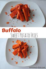 spicy buffalo sweet potato fries sinful nutrition