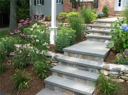inexpensive front yard walkway ideas walkways side entrance garden