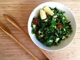 detox green salad
