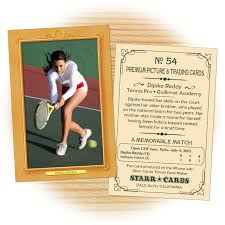 make your own tennis card