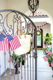 Porch Flags 30 Tips For Summer Decorating Simple Tips To Style Your Home For