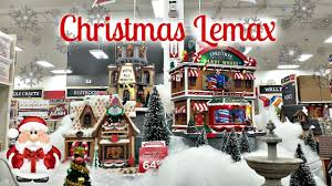 christmas lemax village at michaels 2016 youtube