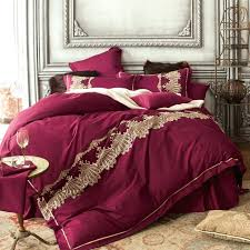 Cotton Bed Linen Sets - european cotton duvet covers luxury 60s long staple cotton bedding