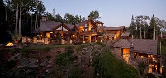 luxury log homes with pool dzqxh com
