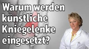 Rehazentrum Bad Bocklet Warum Werden Künstliche Kniegelenke Eingesetzt Youtube