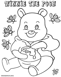 winnie the pooh coloring pages coloring pages to download and print