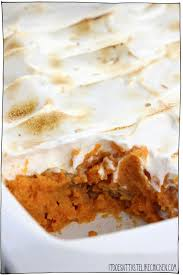 vegan sweet potato casserole with marshmallow it doesn t taste