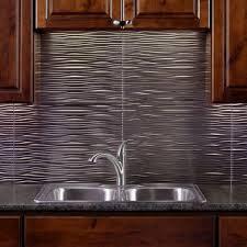 kitchen backsplash metal how to install metal backsplash aspect peel and stick metal tiles