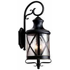shop allen roth oil rubbed bronze outdoor wall light at lowes com