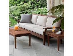 Jensen Leisure Opal Collection Ipe Sofa - Ipe outdoor furniture