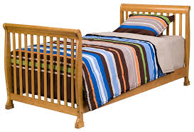 Crib That Converts To Twin Size Bed by Amazon Com Davinci Twin Full Size Bed Conversion Kit Honey Oak