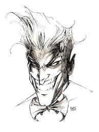 the joker sketch michael turner bat board pinterest joker