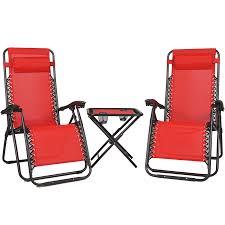 Relaxer Chair Zero Gravity Relaxer Chair 3 Set