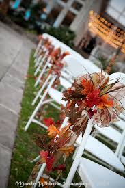 Wedding Decoration Church Ideas by 10 Ways To Decorate Your Chairs At Your Wedding Fall Wedding