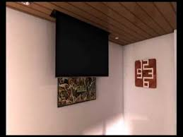 tv a soffitto tv moving mlv staffa tv motorizzata da soffitto motorized tv