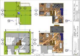 plan maison en u ouvert plan de maison moderne concept ouvert u2013 maison moderne