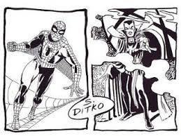 original comic book art more ditko spidey u0026 dr strange art