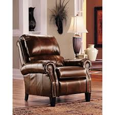 High Leg Recliner Furniture Camron Leather High Leg Recliner Sam S Club