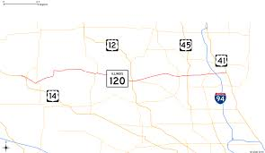 Fedex Route Map by Illinois Route 120 Wikipedia