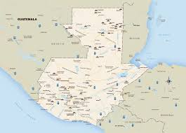 map of guatemala cities large detailed travel map of guatemala with roads and major cities