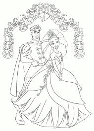 The Princess And The Frog Coloring Pages In Coloring Pages Princess And The Frog Colouring Pages