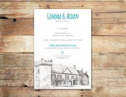 wedding invitations ireland illustrated wedding invitations ireland uk