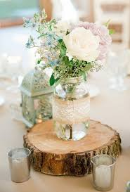 rustic inspired outdoor wedding rustic wedding centrepieces