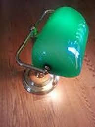 Traditional Bankers Desk Lamp Green Glass Shade Bankers Lamp Foter