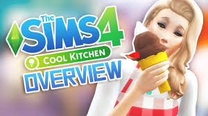 Cool Kitchen by The Sims 4 Cool Kitchen Stuff Overview Youtube
