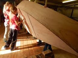 truro students build bevins skiff at cape cod maritime museum