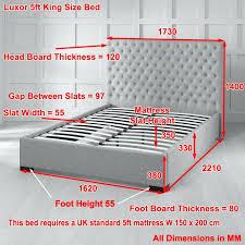 Width Of King Bed Frame Size Headboard Dimension Size Headboard Of