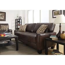brown leather sofa and loveseat serta monaco collection 77 inch brown leather sofa free shipping