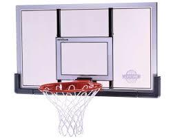 Adjustable Basketball Hoop Wall Mount Amazon Com Lifetime 73729 48 In Shatter Proof Backboard Rim