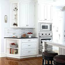 outside corner cabinet ideas outside corner kitchen cabinet crown moulding ideas for kitchen