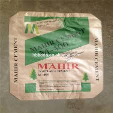 25kg to 50kg ad star plastic cement bags pp woven cement sacks to
