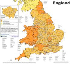 Somerset England Map Administrative Divisions Map Of England