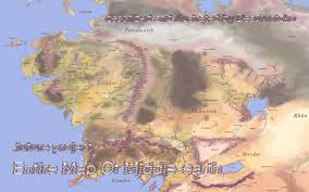 Map Middle Earth Entire Middle Earth Map Major Tourist Attractions Maps