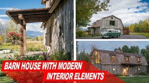 look inside rustic wooden barn house with modern interior look inside rustic wooden barn house with modern interior elements