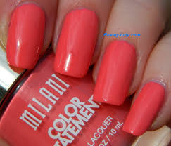 milani color statement nail polish pinks beautyjudy