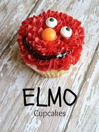 elmo cupcakes elmo cupcakes moments with mandi