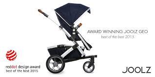 kinderwagen design produktnews joolz geo gewinnt den reddot design award