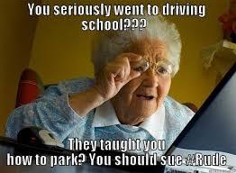 Driving School Meme - driving school fail quickmeme