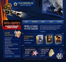 movie website template 9782