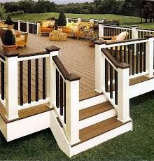 composite decking and railing atlanta ga exovations