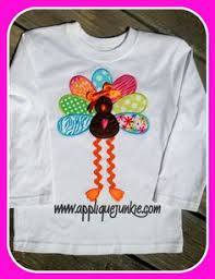turkey applique shirt and skirt tutorial just in time