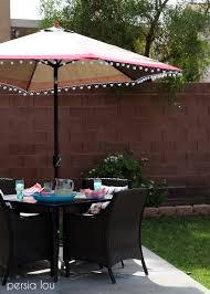 Paint Patio Umbrella Poppytalk Diy Decor To Make Pinterest Outdoor Umbrella