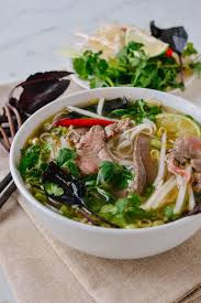 cuisine pho pho noodle soup the woks of
