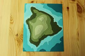 Map Of Hawaii Big Island Faq Can You Make Topographic Pieces Crafterall
