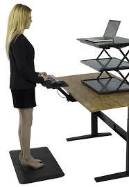 Office Desk Keyboard Tray Kt2 Adjustable Standing Desk Keyboard Tray Trays Raising And