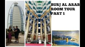 burj al arab room tour part 1 youtube